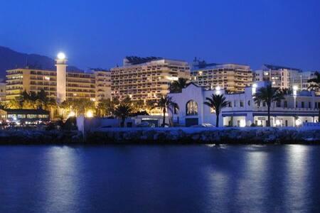 Marbella Centre, seafront promenade