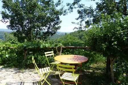 Chambre Alisier - Saint-Julien-du-Serre - Bed & Breakfast