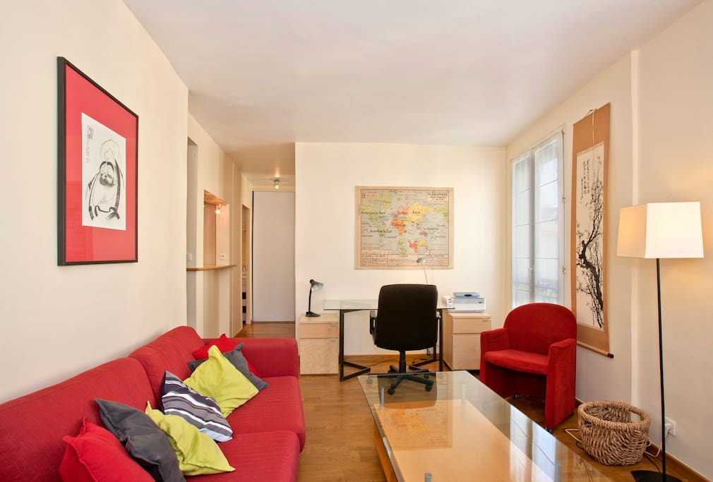Nice studio in heart of Paris 14