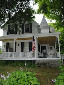 Classic New England Village Home - House