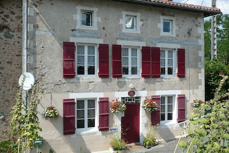 Character B&B in the Charente - Exideuil - Penzion (B&B)