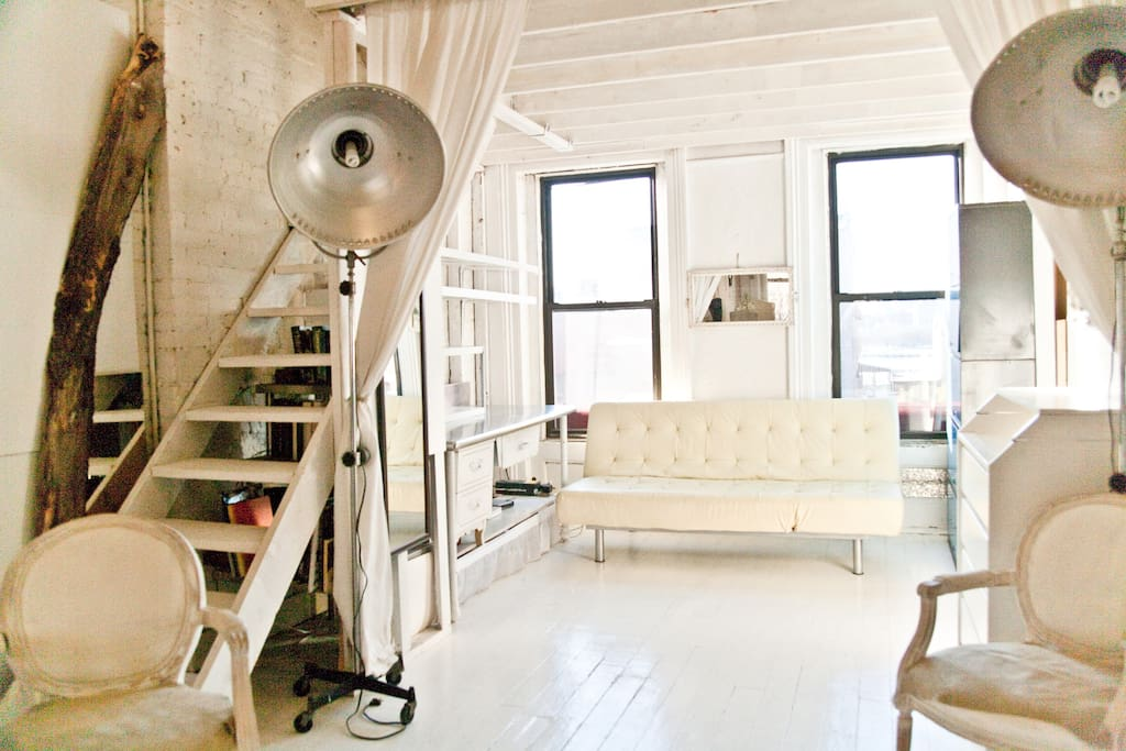 Light+Open+Airy+Rustic+Modern Loft