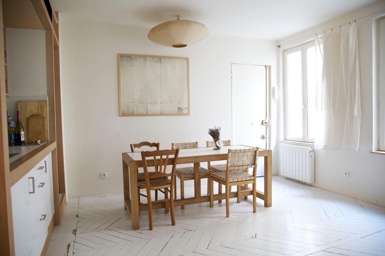 Architect apartment / Paris 10th