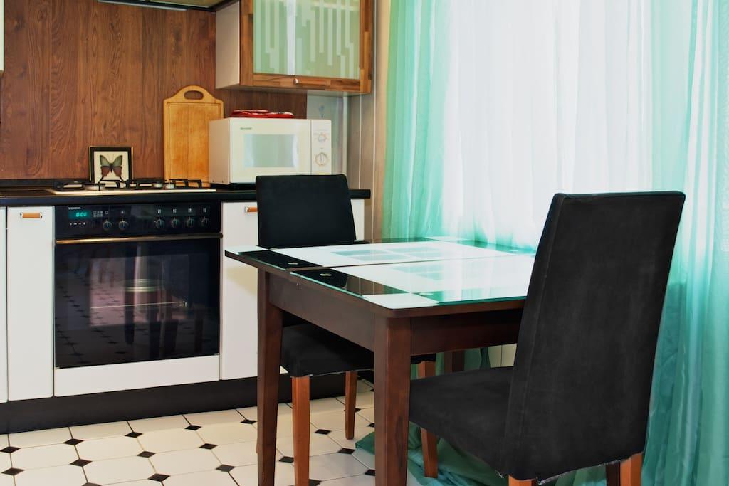 Apartment with interesting design!