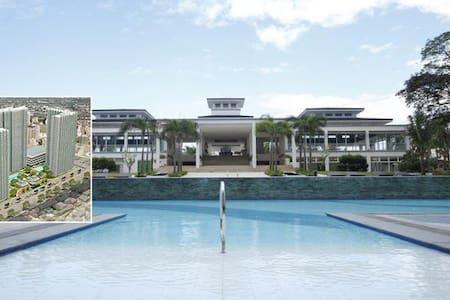 Manila-QC great  condo/flat-(Grass) - Quezon City