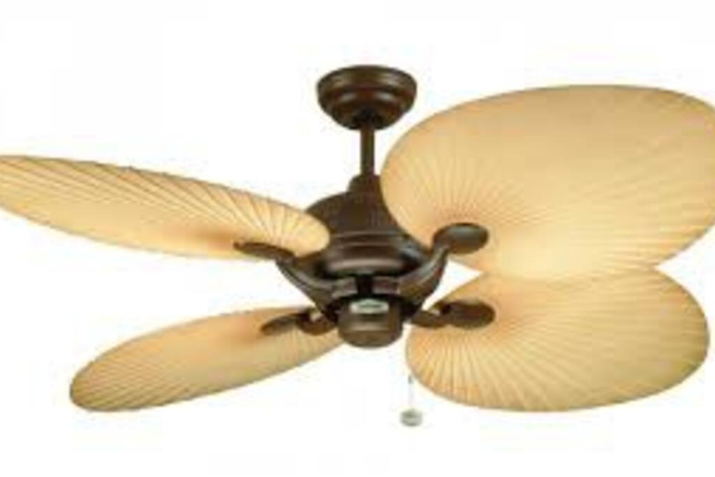 Refreshing fans in your bedroom.