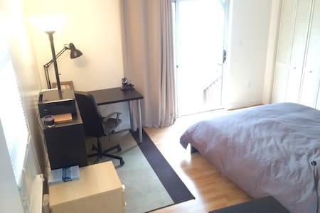 Quiet, Comfortable Room MIT/Harvard - Cambridge - Apartment