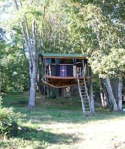 Les cabanes de l'Espinal - Trädhus