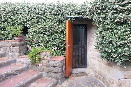 Apartment with garden in Fiesole