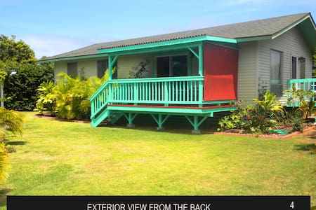 3br - Marlin Vacation House, walk to Paia town - Ház