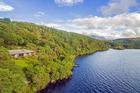 Large Lakefront House - Stunning Views! - Caragh Lake