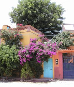 FlowerFilled Courtyard centro home