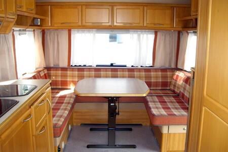 Campingvogn på KRS Feriesenter - Kristiansand