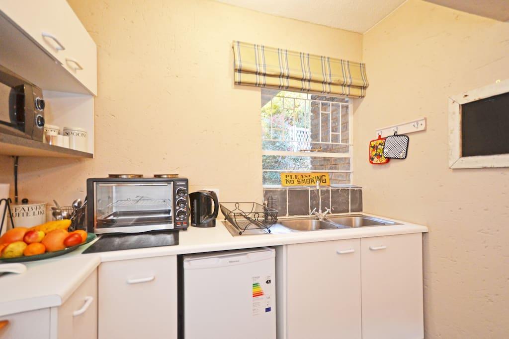 Separate kitchenette