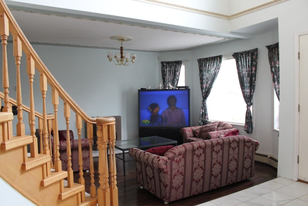 Living room. NEW TV & NEW furniture, not shown.