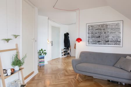 Charming apartment in the tower of SønderBoulevard - København - Apartment