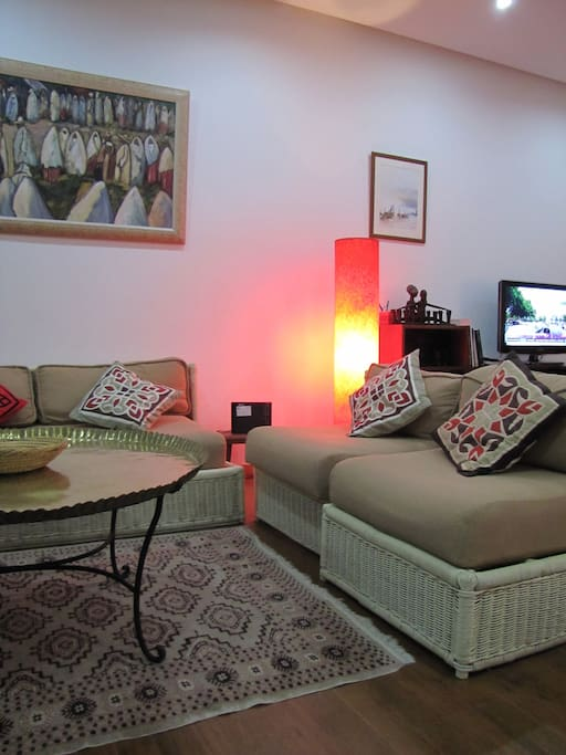 Gorgeous flat in central Tangier