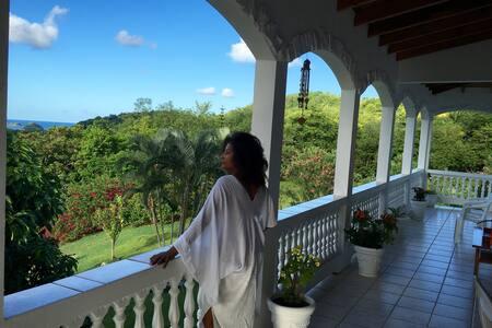 Spacious Vacation Rental with Fabulous Views - Praslin