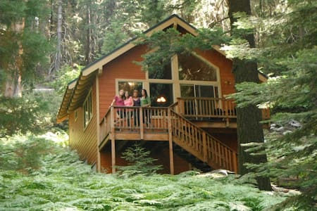 Beautiful cabin in a Sequoia Grove - Cabane