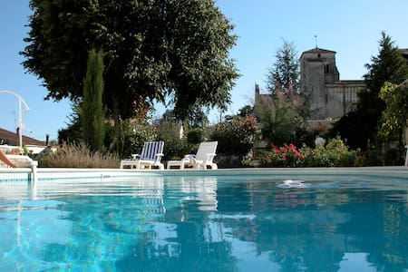 MAISON CHARENTAISE AVEC PISCINE - Villars-en-Pons - Rumah