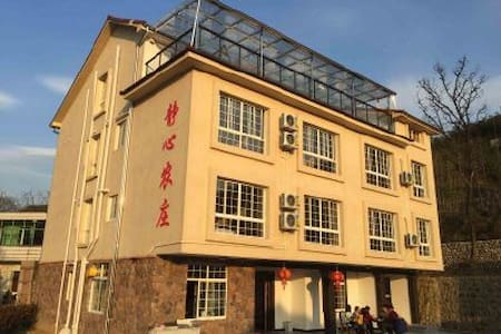 静心农庄坐落在浙江、安吉、天荒坪镇大年初一旁。农庄集餐饮与住宿为一体。 - Apartamento