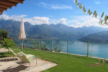 Wonderful house overlooking Lake Iseo - Parzanica