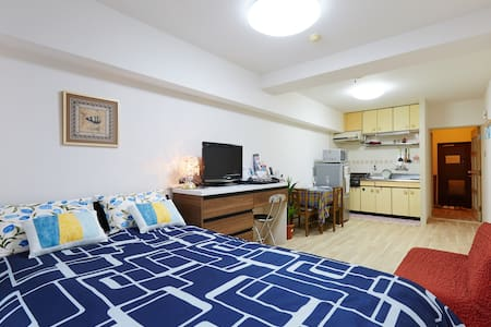 1 min from station/Pocket Wi-fi - Apartment