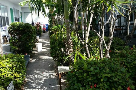 Cozy studio rm walk to beach - Miami Beach - House