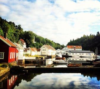 Modern apartment on historical site - Askøy