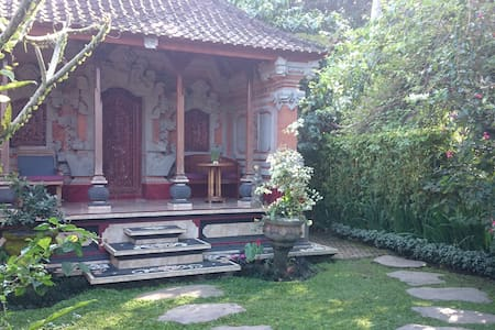 Charming Bali House, RiceField,Yoga - Ubud - House