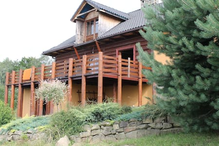 Beautiful timber house in mountains - Dům