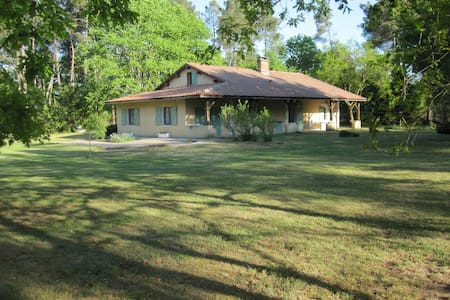 Maison de famille en pleine forêt - Sabres - Hus