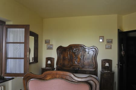 Stanza della Rosa uso quadrupla - Pralungo - Bed & Breakfast