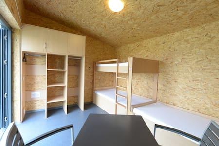 Campinghütte am Senftenberger See - Hut