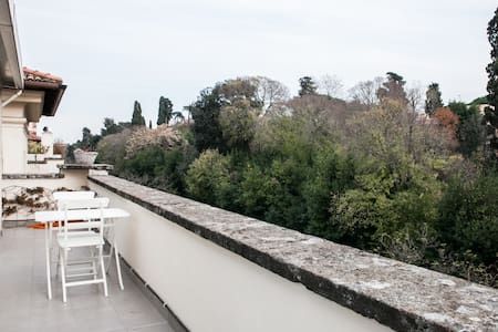 ROOF on the top of a GARDEN - Roma - Apartment