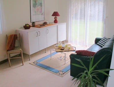 Grand studio très calme, de plain pied avec jardin - Daire