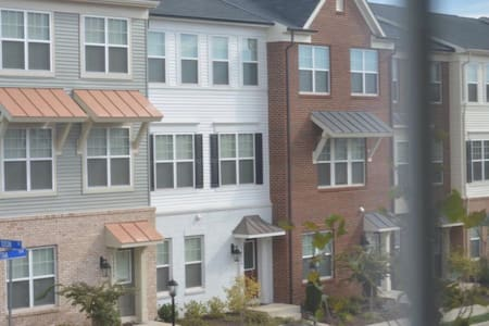 A new townhouse, 2 private rooms - Chantilly - Townhouse