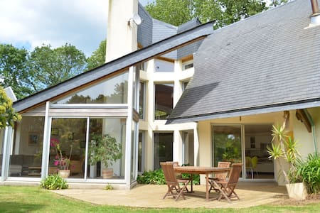 Maison architecte mer et campagne - Haus