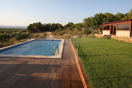 Designer-Villa mit Garten und Pool - Llíria - Villa