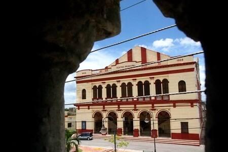 House La China - Habitación con balcon - Camagüey - Casa de hóspedes