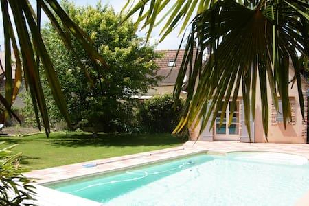 Nice 2 rooms with swimming pool - La Ferté-Saint-Aubin