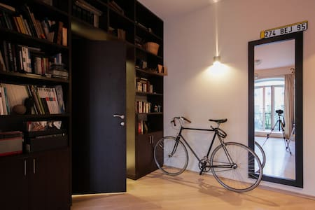 Architect's flat in the city center - Apartment