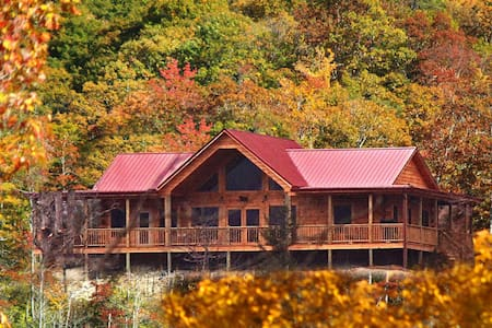 Black Bear Lodge at Deep Creek - Bryson City - Ξυλόσπιτο
