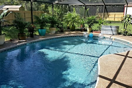 Quiet home with pool, central to all Tampa Bay! - House
