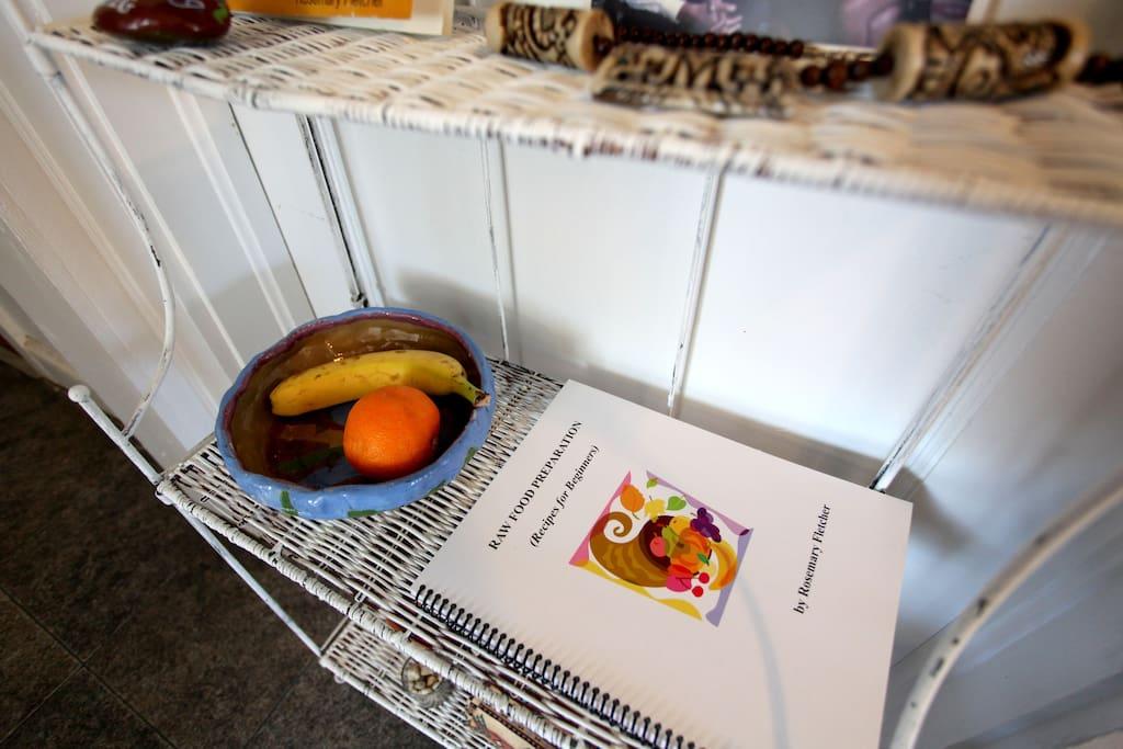My new raw food cookbook