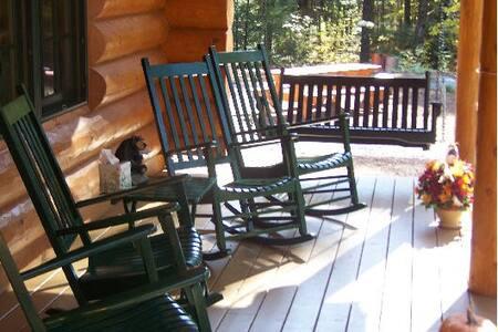 Big Bear Log Cabin-Luxury-Naples,Harrison,Bridgton - Harrison - Cabin