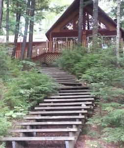 A private cabin, right on the lake  - Brooks - Cabin
