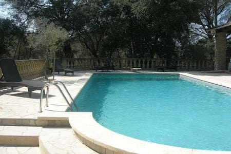 B&B 2 persons Provence-swimmingpool - Oda + Kahvaltı