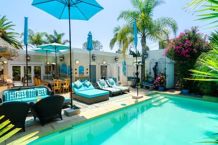 Tropical Paradise Pool Patio House  - Pacific Palisades - Casa