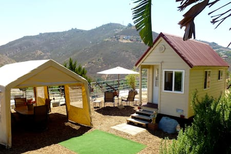 Tiny House. Trail Riding. Paradise! - Fallbrook - Hus